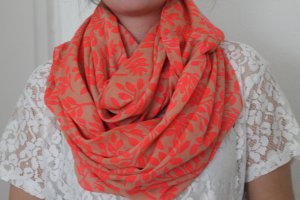 Pieces Tube Scarf salmon-nude