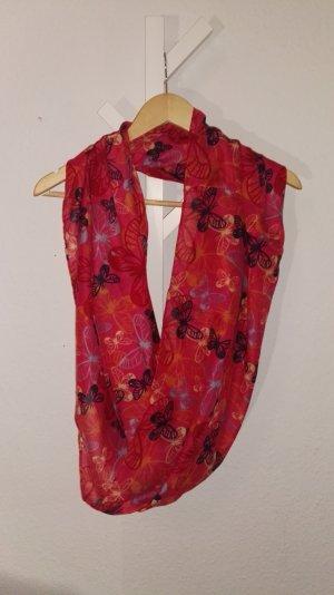 Vero Moda Bufanda tubo rosa-magenta Viscosa