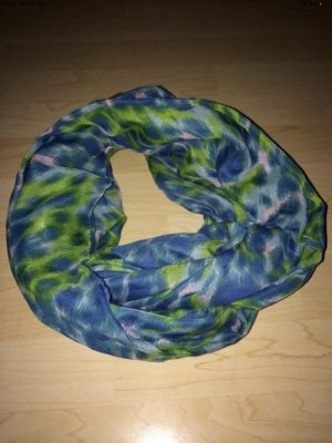 Pieces Tube Scarf neon blue-green