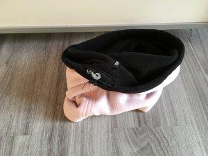 Schlauchschal rosa schwarz