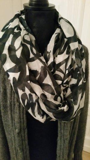 Schlauchschal schwarz-weiß