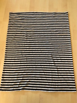Tom Tailor Bufanda tubo negro-blanco