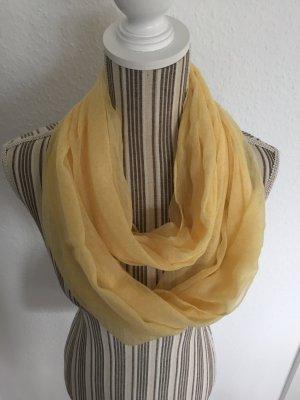 Esprit Bufanda amarillo-blanco
