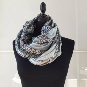 Pieces Tube Scarf turquoise