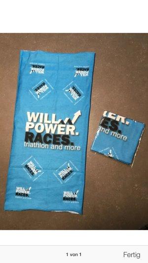 Schlauchtuch Multifunktionstuch *Willpower.Races.Buff* Triathlon Cologne