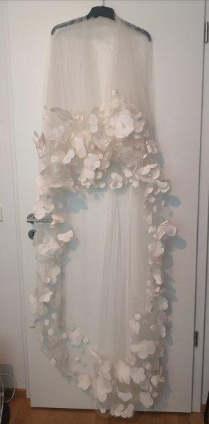 Schleier Hochzeit Blumen Blüten