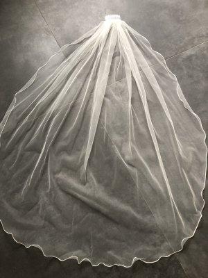 Schleier softtüll Brautschleier Hochzeit
