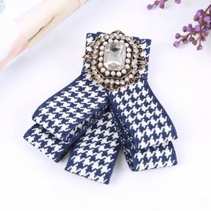 & other stories Broche blanco-azul oscuro