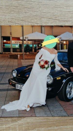 Schlicht elegantes Brautkleid Größe 40