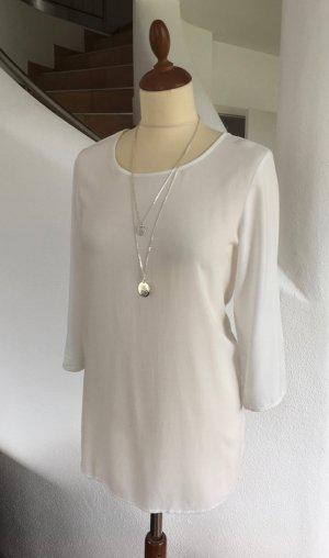 Schlichte Bluse von Vero Moda in weiß/creme Gr. L
