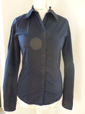 schlichte dunkelblaue Bluse von Vero Moda - Medium