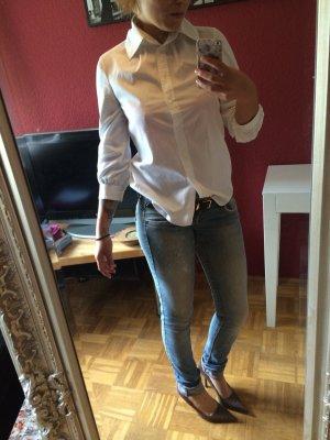Schlichte, elegante Dreiviertel Bluse von Hugo Boss