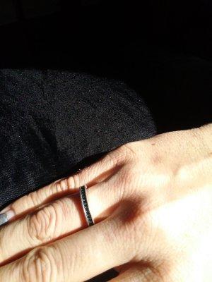 Thomas Sabo Silver Ring black real silver