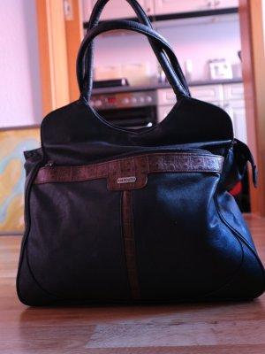 """Schlichte Handtasche / """"das große Schwarze"""""""