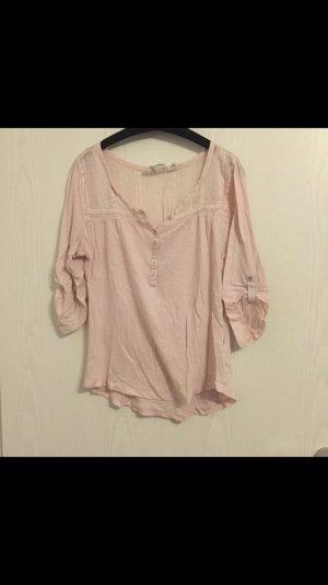 Schlichte rosafarbene Bluse