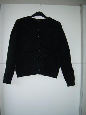 schlichte schwarze Strickjacke von H&M Gr. M 38 Cardigan