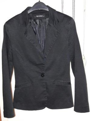 Schlichter Blazer in schwarz