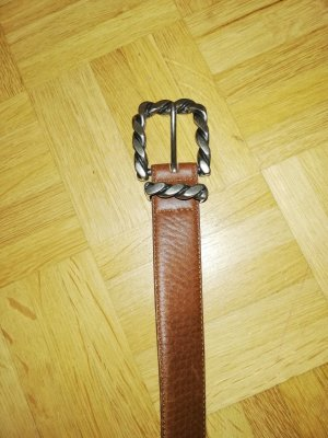 Bogner Cintura di pelle cognac Pelle