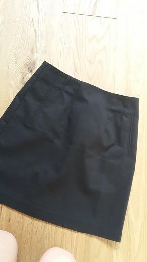 Schlichter Business Pencilskirt kurz / Bleistiftrock kurz H&M schwarz
