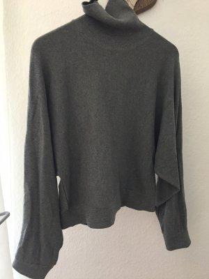 Zara Maglione dolcevita grigio scuro