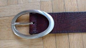 100 Cinturón marrón Cuero