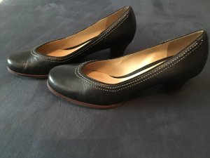 Clarks Pumps black leather