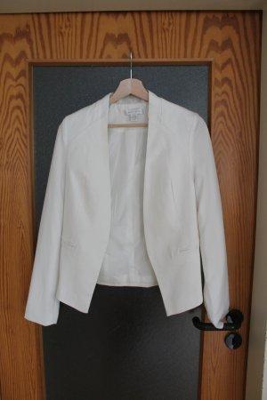 Schlichter leichter weißer Blazer, Größe 38 - wie NEU