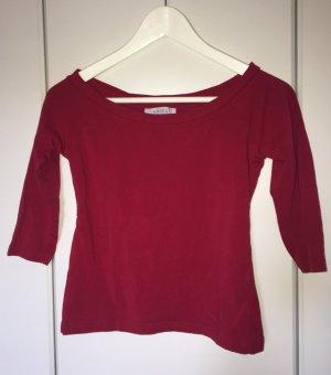 Schlichter Pullover mit U-Ausschnitt