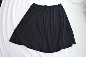 Asos Skater Skirt black viscose