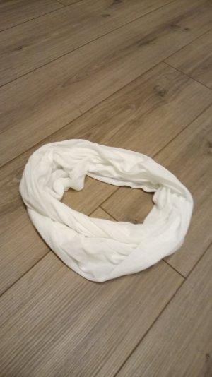 Écharpe ronde blanc
