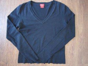 Schlichter V-Ausschnitt Pullover von S.Oliver