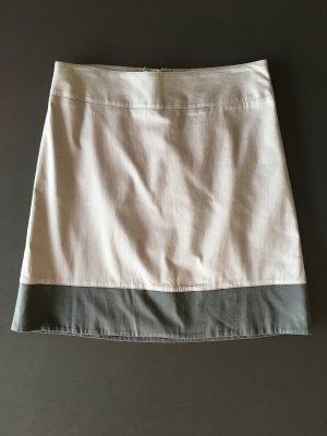Mexx Falda de patinador gris claro-gris Algodón