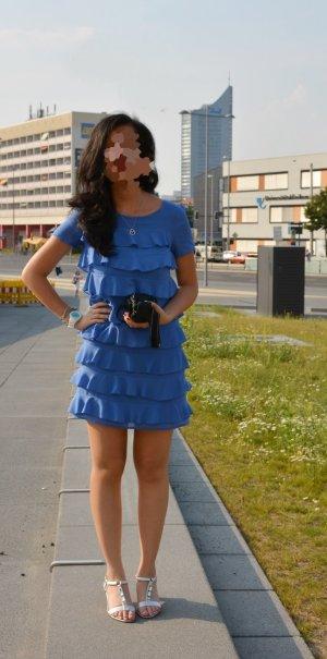 Schlichtes, aber elegantes Volantkleid von H&M