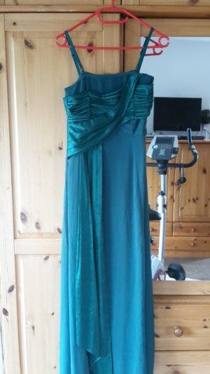 esprit collection Vestido de baile verde bosque