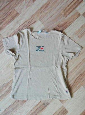 Schlichtes Beiges T-Shirt