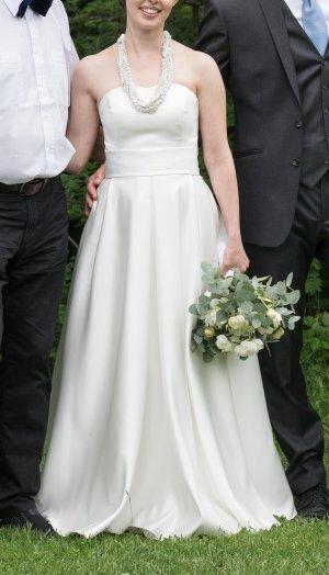 Bianco Vestido de novia multicolor