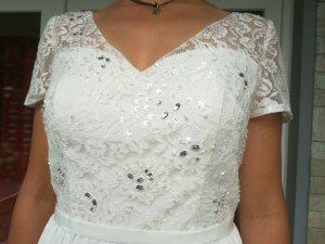 Schlichtes Brautkleid NEU