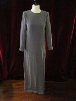 Marlene Birger Vestido de noche gris oscuro Seda