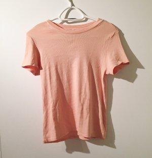 schlichtes, geripptes Tshirt