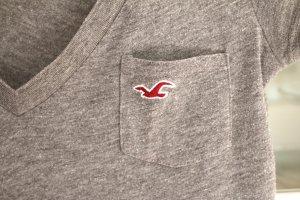 schlichtes graues HOLLISTER T-Shirt - sehr guter Zustand!!
