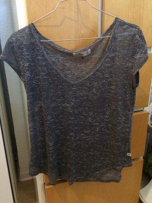 Schlichtes graues T-Shirt von Hollister