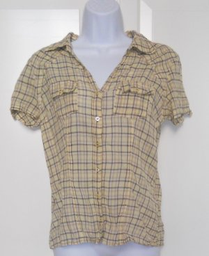 Schlichtes Kariertes Only-Hemd