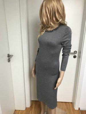 Broadway Knitted Dress dark grey