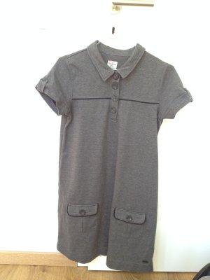 Schlichtes minimal Kleid in grau, NEU ohne Etikett