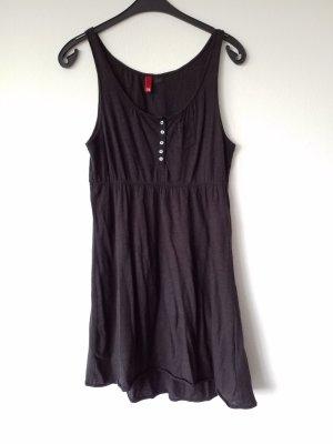 schlichtes schwarzes Jersey Kleid von H&M