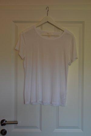 H&M T-shirt bianco-bianco sporco