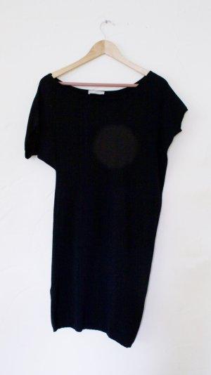 Stefanel Wollen jurk zwart