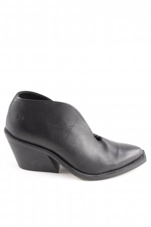 Botas deslizantes negro estilo «business»