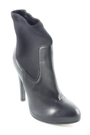 Slip-on Booties black elegant