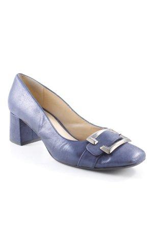 Schlüpfschuhe dunkelblau Elegant